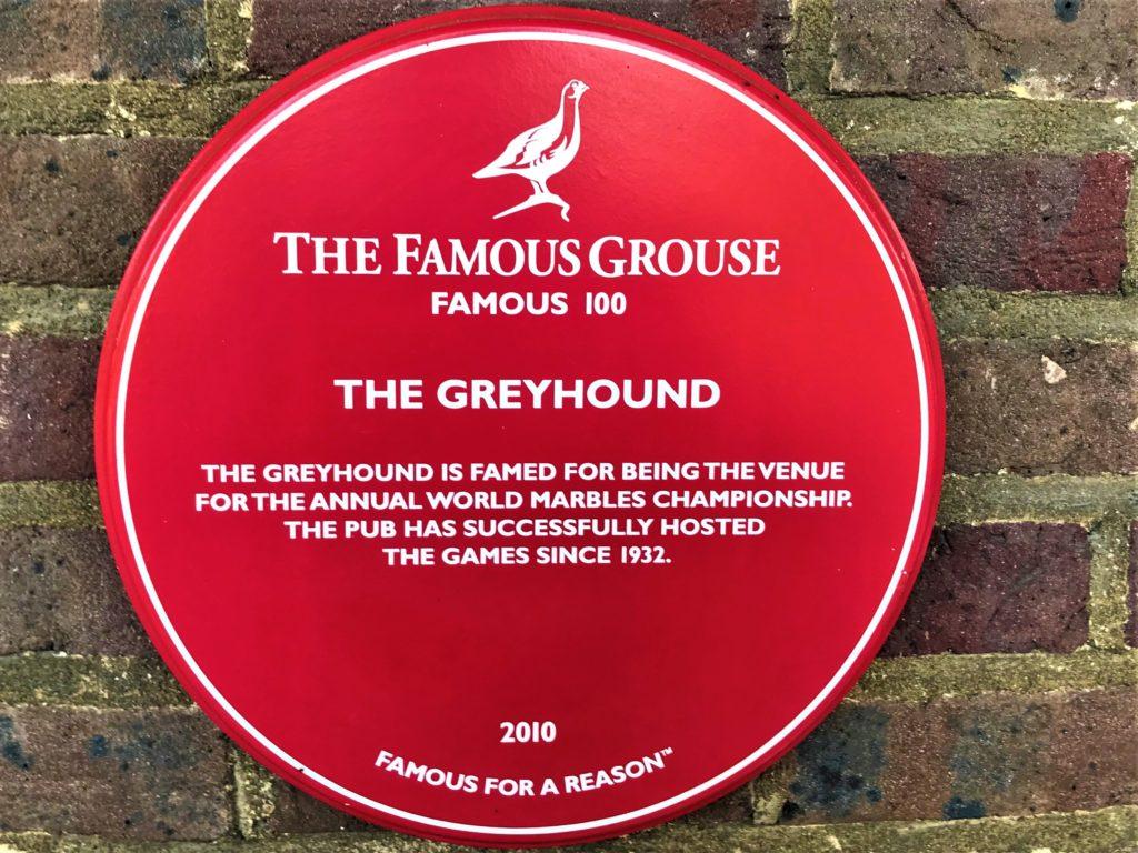 World Marble Championships Greyhound